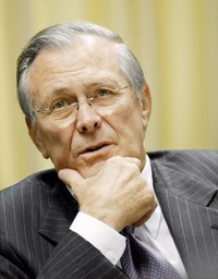 Donald Rumsfeld's memo excites White House's disapproval