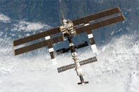 New solar panels unfurl on space station
