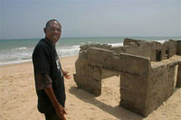 Ocean turns southern coast of Ghana into Atlantis