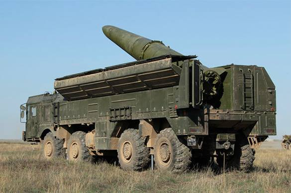 Russia tests Iskander-M missile systems. Iskander-M