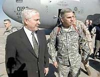 Top-ranked U.S. commander talks optimistically of prospects of securing Baghdad