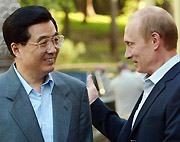 Russian, Chinese president pledge closer ties