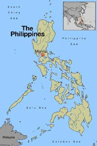 Storm leaves 2 dead in Philippines