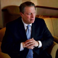 Al Gore starts his presidential campaign on television