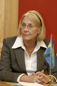 Swedish foreign minister resigns