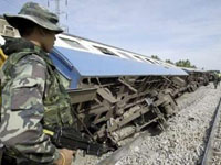 Train Crash in Thailand: 10 Reported Dead