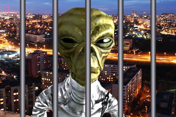 In Ufa, police arrest stubborn 'alien.' Video. 59995.jpeg