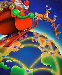 Santa Claus passes by most Russian cities