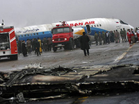 Emergency Landing in Iranian City Went without Deaths