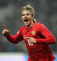 Russia's Roman Pavlyuchenko to join Tottenham