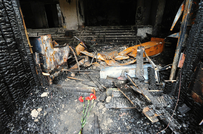 Revisiting Odessa massacre 3 years later It is generally believed that those, who orchestrated the massacre in Odessa in May 2014, would never be punished for burning people alive and killing those who were trying to escape from the burning hell odessa_massacre