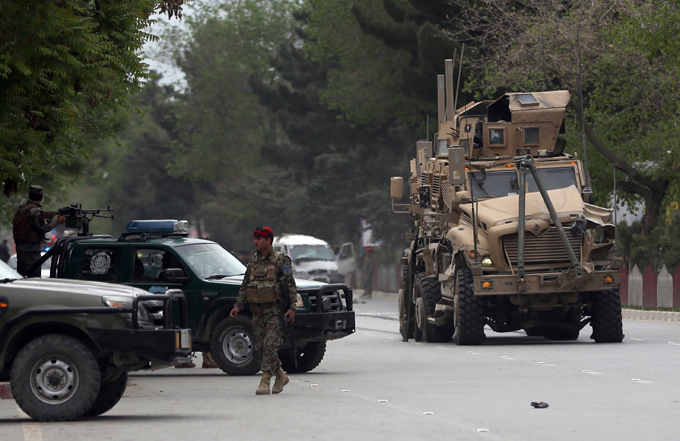 Kabul: NATO convoy attacked The Afghan conflict is the longest in US history-US-led NATO troops have been at war there since 2001, after the ousting of the Taliban regime for refusing to hand over Osama bin Laden following the 9/11 attacks kabul