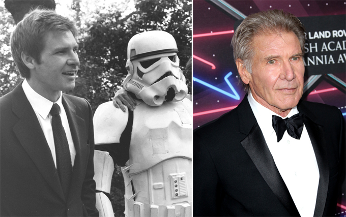 Stars of Star Wars 38 years later