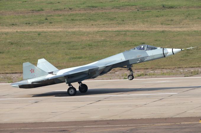Russia's Sukhoi PAK FA T-50 5th generation fighter