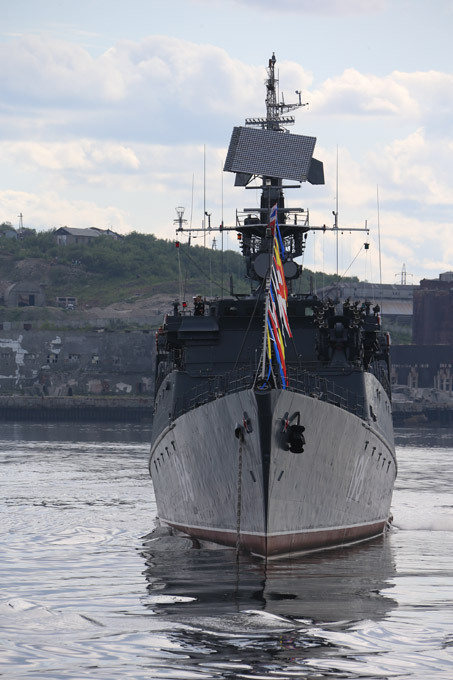 Russia s youngest fleet started in the North The Northern Flotilla was formed in early 1933 by transferring patrol boats Smerch and Uragan, D-class submarines Dekabrist (D-1) and Narodovolyets (D-2) and two destroyers from the Baltic Fleet russia_northern_fleet