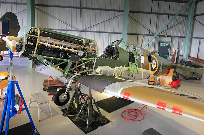Legends of aviation: Supermarine Spitfire