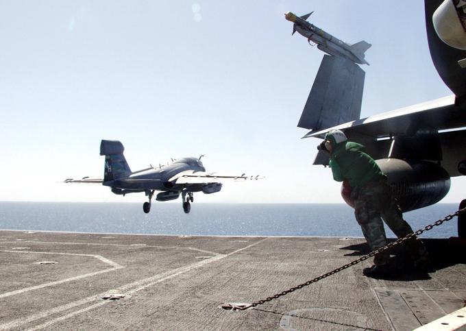 EA-6B Prowler: Electronic warfare aircraft