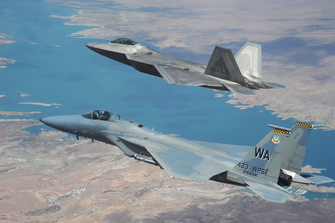F-22 Raptor jets ready to fly to Europe