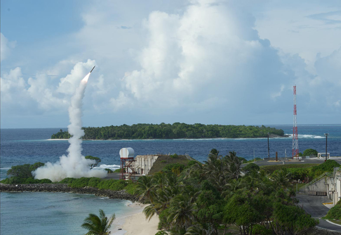 THAAD interceptor in action THAAD was developed after the experience of Iraq s Scud missile attacks during the Gulf War in 1991 thaad