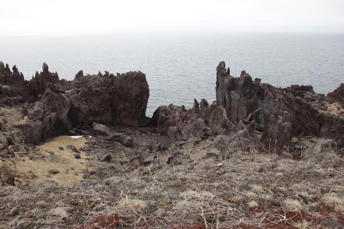 Iturup: Island of solidified lava