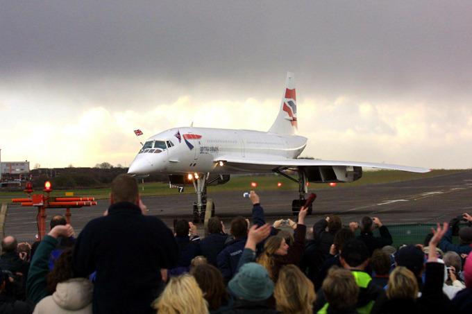 The era of Concorde