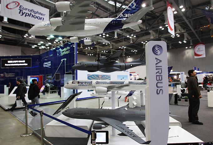 Aeroespacial y Defensa de Exposiciones de Seúl Un total de 361 empresas de 28 países participarán en los seis días ADEX adex_seoul
