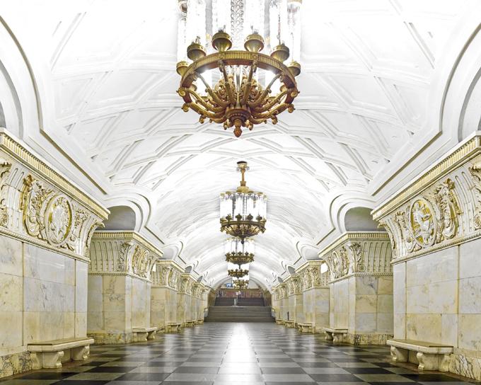 Underground palaces of Moscow Metro