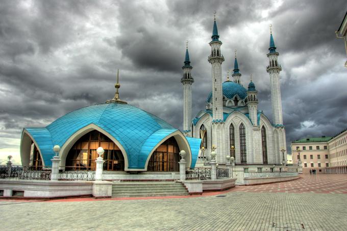 The main Juma Mosque of Tatarstan and Kazan
