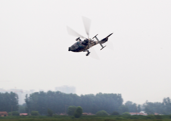 China unveils new attack helicopter  china_helicopter