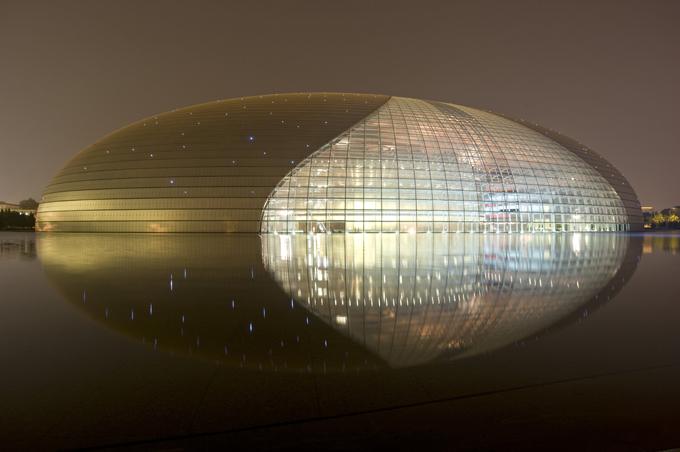 Modern architecture glass 8 pravdareport for Beijing opera house architect