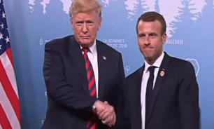 Macron challenges Trump. French independence and croissants at stake