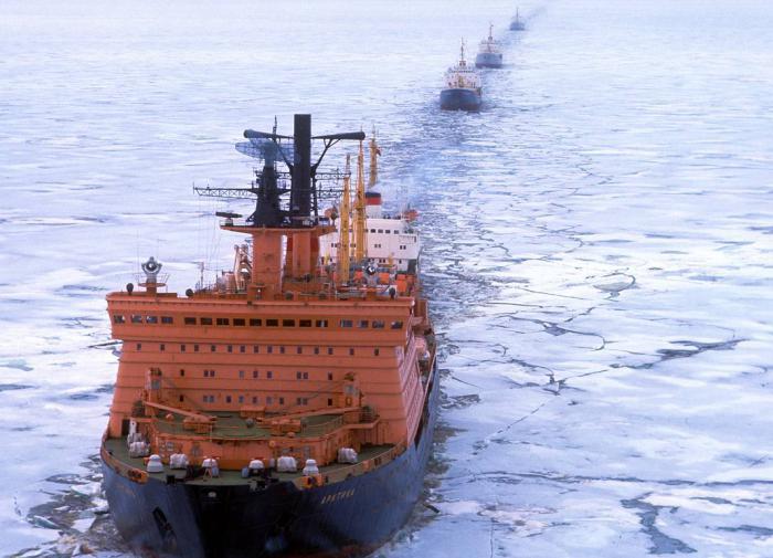Russia builds world's largest icebreaker fleet