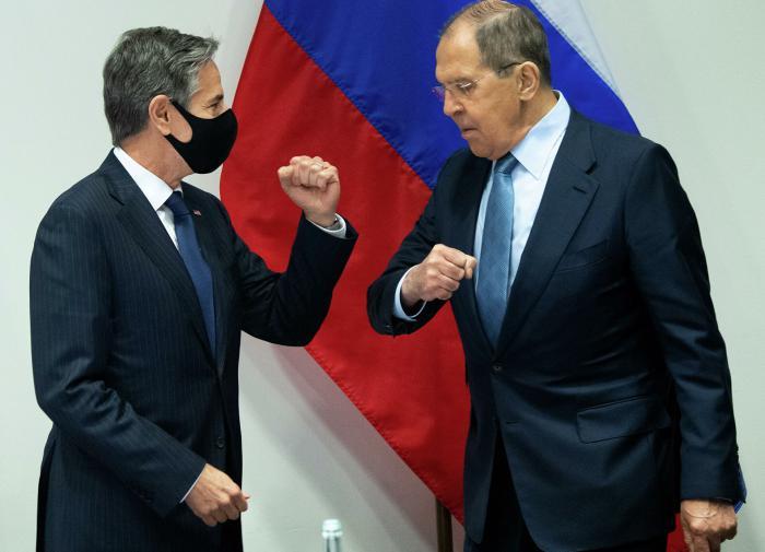 Russian FM Sergei Lavrov sees glimmer of hope in Anthony Blinken's eyes