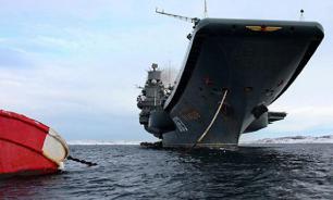 Russia to raise sunken floating dock