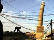 Al-Nuri Mosque destroyed