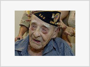 World's oldest man smokes for 76 years and celebrates his 115th birthday