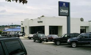 Matrix revealed: In the form of a modern car dealership