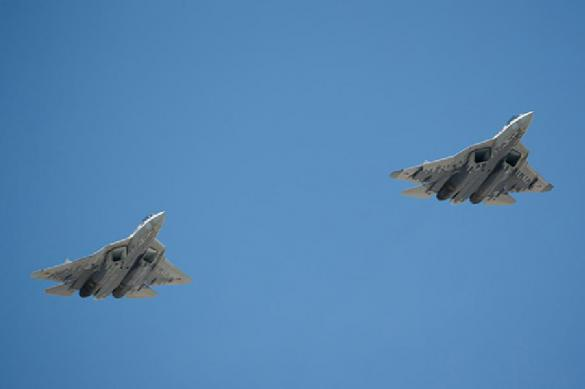 Su-57 fifth-generation jets show unbelievable manoeuvrability in the air