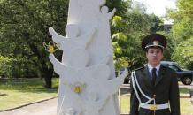 Monument to children killed in Donbass war unveiled