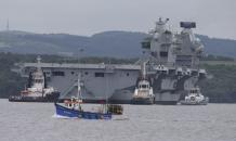 Computers of UK s largest-ever military ship run Windows XP