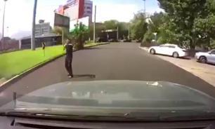 Terrorists attack Kazakhstan. Video