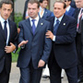 Medvedev, Sarkozy and Berlusconi defamed on photos taken during G8 summit