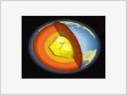 Giant crystal hidden in Earth's center