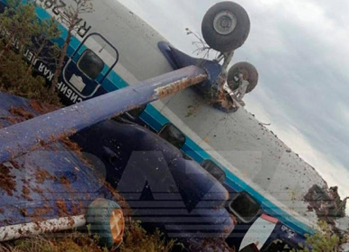 An-28 hard landing near Tomsk: All 19 on board survived
