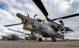 Mi-28 helicopter armed with new generation of missile weapons