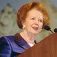 Margaret Thatcher, the English dream, celebrates her 80th anniversary