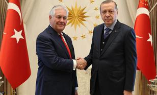 USA toads to Turkey