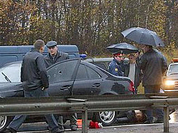 Russian banker and his family brutally assassinated on the way to monastery