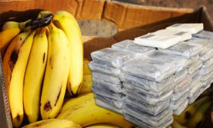 Bananas with 18 kilos of cocaine delivered to St. Petersburg