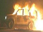 Kosovo on fire